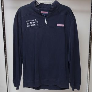 Vineyard Vines 1/4 Zip Sweater Large